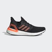J-adidas UltraBOOST 20 W 黑橘 BOOST底 休閒 舒適 女鞋 運動鞋 慢跑鞋 EG0717