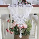 時尚蕾絲桌布1 鏤空茶几布書桌布隔熱餐墊(30*150cm)