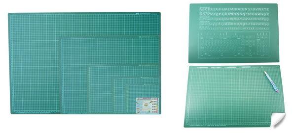 PASS 教課桌 切割板 切割墊板 PP環保材質 無塑化劑 40×60cm