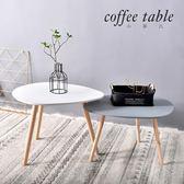 北歐創意客廳不規則形狀桌子茶幾邊桌密度板簡易組合雨點托盤桌 igo  遇見生活