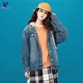 【秋冬降價款】American Bluedeer - 連帽牛仔外套(魅力價) 秋冬新款