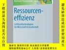 二手書博民逛書店罕見RessourceneffizienzY405706 Reimund Neugebauer ISBN:9