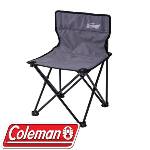 【Coleman 美國 吸震摺椅《灰》】CM-26853/摺疊椅/收納椅/露營椅★滿額送