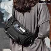 斜跨包 工裝 斜背包 多夾層 兩用 腰包 斜跨包【SWB0100】男女皆可 斜背包