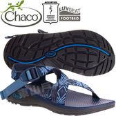 Chaco ZLW01_HD34聚焦藍光 女越野紓壓涼鞋-Z/Cloud標準款 綁帶涼鞋