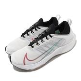 Nike 慢跑鞋 Air Zoom Speed GS 白 紅 女鞋 大童鞋 跑鞋 運動鞋【ACS】 CJ2088-100