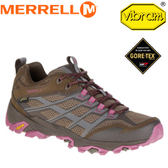 【MERRELL 美國 女款 MOAB FST GORE-TEX 棕色】ML37154/越野鞋/休閒鞋/登山鞋/運動鞋/健行★滿額送