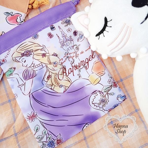 《花花創意会社》外流。迪士尼公主奇奇蒂蒂總動員束口包可愛卡通禮物袋【H6925】