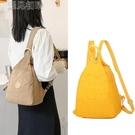 胸包新款大容量三用小背包時尚百搭雙肩包女包包胸包尼龍布防水斜挎包 快速出貨