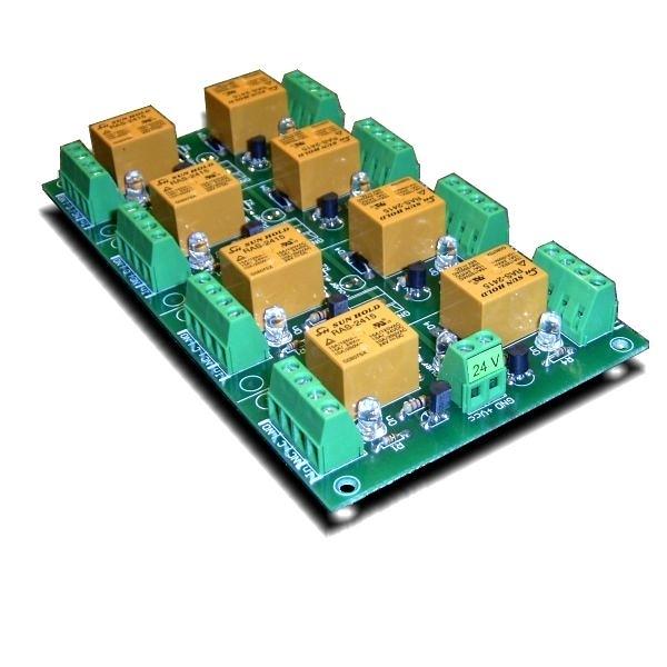 [2美國直購] denkovi 繼電器板 8 Channel relay board for your Arduino or Raspberry PI 24V