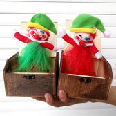 嚇一跳大木盒嚇人木盒玩具送禮道具禮物小丑禮盒整人木盒xx7779【歐爸生活館】