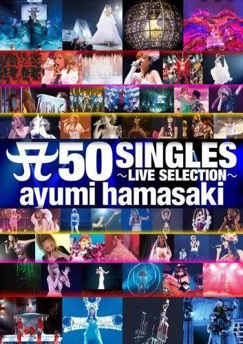 濱崎步 50張單曲 演唱會精選 DVD ( 購潮8)