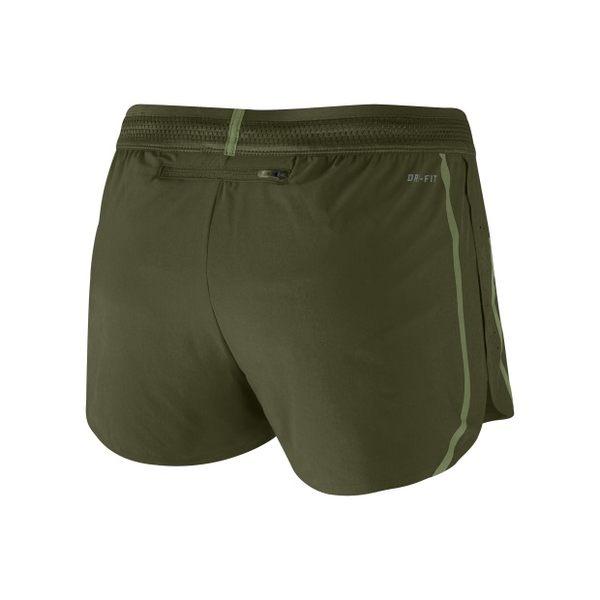 NIKE AEROSWIFT 女裝 短褲 二吋 休閒 排汗 舒適 網眼布 透氣 軍綠 【運動世界】 719565-331