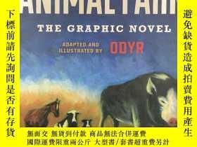 二手書博民逛書店Animal罕見Farm: The Graphic Novel 動物農場漫畫 George OrwellY19