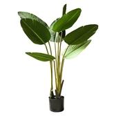 仿真植物 北歐風旅人蕉天堂鳥大型仿真熱帶植物客廳室內樣板房裝飾綠植盆景 源治良品