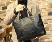 簡約韓版男包潮流男士手提包