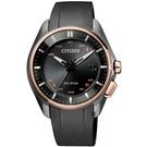 CITIZEN 星辰 藍芽光動能鈦金屬 限量手錶 BZ4006-01E