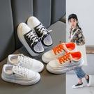 女童板鞋韓版新款兒童透氣小白鞋秋季女孩休閒運動鞋男童鞋子