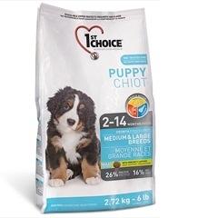 *Ego Pet*瑪丁1st Choice《中大型幼犬》雞肉配方7kg - 幼犬2個月至12個月 - 第一優鮮