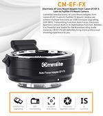 【canon鏡頭 接 fujifilm 機身】Commlite CM-EF-FX canon EF/EF-S卡口鏡頭 轉 fujifilm 富士微單相機 電子轉接環