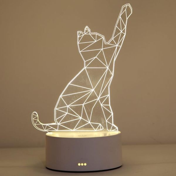 檯燈 卡通檯燈臥室床頭燈創意簡約現代小夜燈插電床頭創意夢幻節能溫馨 可可鞋櫃