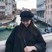 帽子女秋冬毛呢八角帽甜美可愛南瓜帽貝雷帽