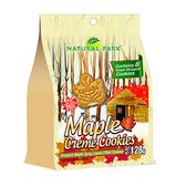NATURAL PARK 加拿大楓糖夾心餅乾(128gx6包)-箱購