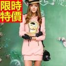 女款長袖連帽T恤時髦自信-細緻森林系風靡時尚女裝上衣59a36【巴黎精品】