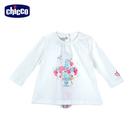 chicco-春之頌-印圖長袖上衣