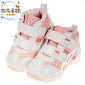 《布布童鞋》asics亞瑟士RUNNER_BABY粉色寶寶機能學步鞋(14~16公分) [ J9D166G ]
