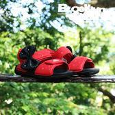 adidas Disney Mickey 魔鬼氈 迪士尼 涼鞋 紅黑 小童 (布魯克林) 2018/7月 CQ0108