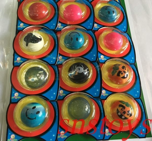 sns 古早味 懷舊童玩 跳菇 大跳菇 彈力球 彈跳球 (12個/組) 逆方向壓下放置地下,會自動彈跳