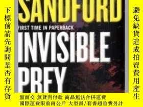 二手書博民逛書店Invisible罕見Prey看不見的獵物,約翰·桑福德作品,英文原版Y449990 John Sandord