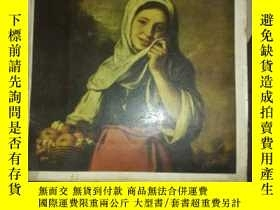 二手書博民逛書店MASTERS罕見OF WORLD PAINTING《MURIL