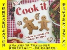 二手書博民逛書店Cook罕見It learn to cook 100 easy