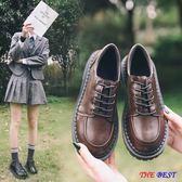 [百姓公館] 小皮鞋 平底單鞋 圓頭 娃娃鞋 英倫