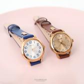 手錶 正韓JULIUS數字刻度皮革手錶 柒彩年代【NEK47】單支