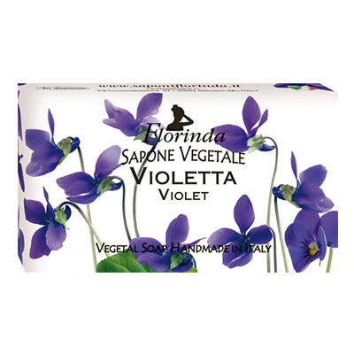 Florinda 芙洛琳達 紫羅蘭 義大利天然手工香皂 100g 10點半美妝館