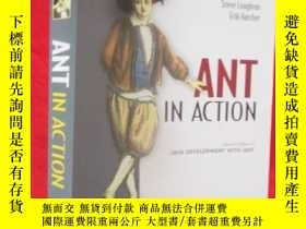 二手書博民逛書店Ant罕見in Action: Covers Ant 1.7 【