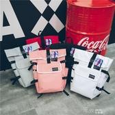 同款雙肩包女韓國15.6寸電腦背包大學生書包男時尚潮流 新年禮物