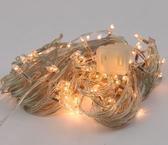 奔鹿聖誕LED串燈黃燈暖白燈聖誕節裝飾燈10米100頭帶尾插 電購3C
