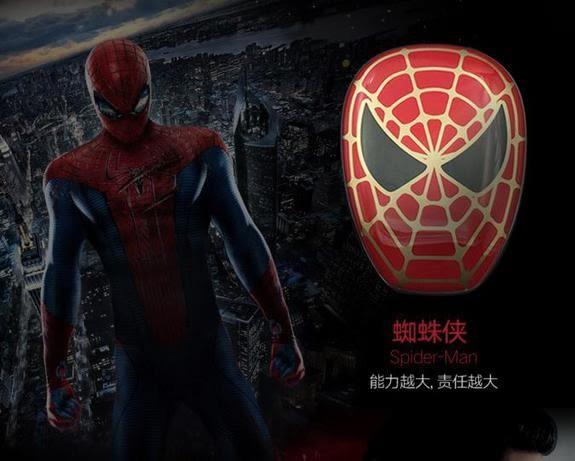 【蜘蛛人】英雄復仇者聯盟.智能酷炫變色防刮手機行動電源12000mAh