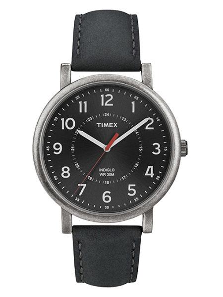 【時間光廊】TIMEX 天美時 黑 復刻系列 簡約經典款 全新原廠公司貨 T2P219