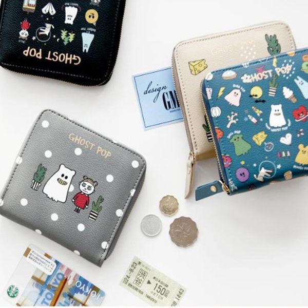 Melek 配件類 (共6色) 現貨【A01160506-0101~06】女短夾卡通精靈/短夾/皮夾/錢包