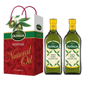 【Olitalia奧利塔】純橄欖油2入禮盒組(500ml)