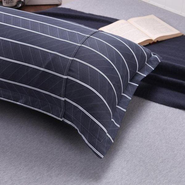 枕頭套-水叮當情侶雙人枕頭套1.2米 棉質雙人枕套1.5米全棉加長枕套長款【端午節好康89折】
