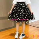 女童小雛菊半身裙兒童網紗洋氣蓬蓬裙女孩公主短裙子【淘嘟嘟】