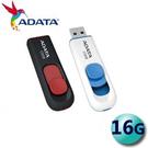 ADATA 威剛 16G 16GB C008 USB2.0 滑動式 隨身碟 日系簡約