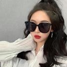 韓版墨鏡女潮2020潮氣質大框百搭太陽鏡女網紅明星款街拍眼鏡女潮 艾家