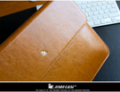 【現貨】JISONCASE 杰森克斯 Apple MacBook Air 13 吋 奢華真皮內膽包
